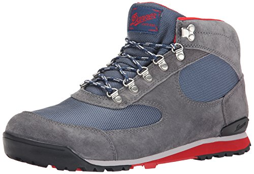 "Danner mens 37352 Jag 4.5"" Waterproof hiking boots, Steel Gray/Blue Wing - Nubuck, 11 US"