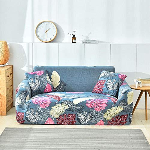 TAYIBO Cubierta de protección de cojín de sofá,Funda de sofá elástica Estampada, algodón Todo Incluido, Anti-Suciedad y Anti-Garra-T_1seater_80-140cm