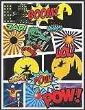 Crée Ta Propre Bande Dessinée: Cree Ta BD livre vierge de Dessiner A4 100 pages Cahier de adulte et enfant