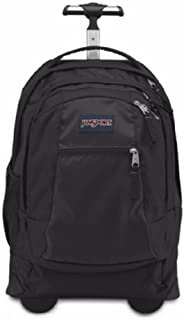 JanSport Driver 8 Core Series Wheeled Backpack (All Black)