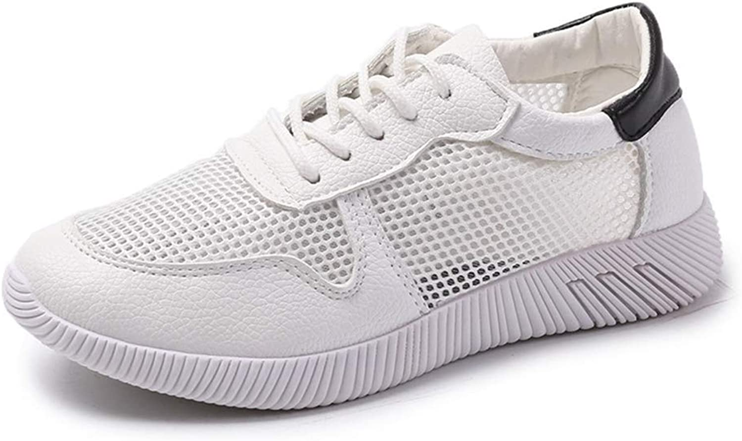 Gedigits Female Spring Wedges White shoes Women Platform Casual shoes Green 5.5 M US