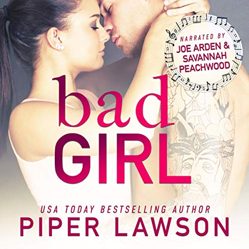 Bad Girl: A Rockstar Romance audiobook cover art