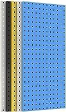 WH-IOE Panel para Herramientas de Metal Tableros de Clavijas metálicas de Montaje de Herramientas for la Cocina de la Sala...