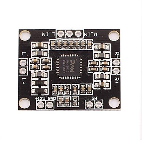 Aexit 12V PAM8610 High Power Audio Stereo Verstärker Modul Board Schwarz (03ce90b591e4c36397a5945420770a6c)