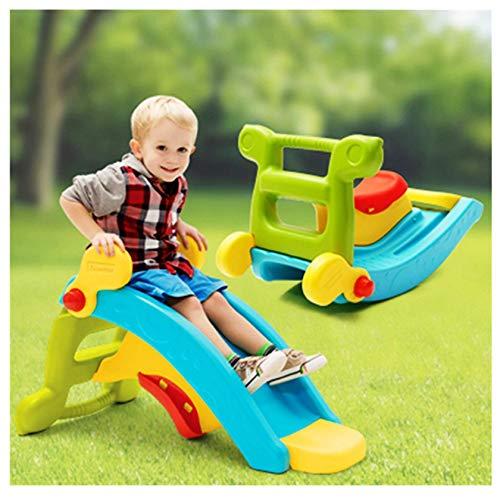 Swing, 2 en 1 para niños de escalada y balancín para cestas de interior y patio trasero, juguete para jugar al aire libre para niños de 2 a 8 años