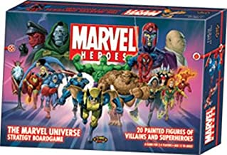Marvel Heroes The Marvel Universe Strategy Boardgame