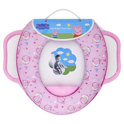 Peppa Pig Weich gepolsterter Toilettensitz mit Griffen