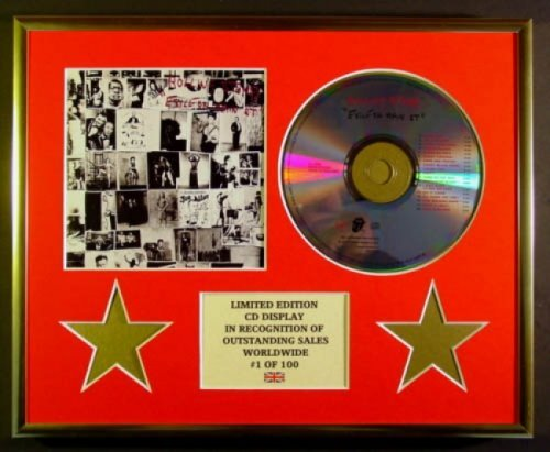 Rolling Stones/CD Display/Limited Edition/COA/Exile ON Main ST.