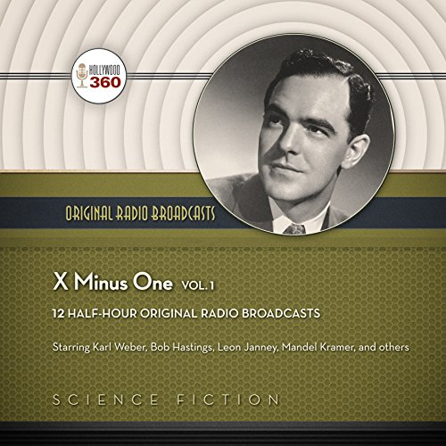 X Minus One, Vol. 1 audiobook cover art