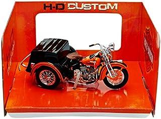 Maisto - 20-03179 - Sidecar Harley-Davidson Servi Car - 1947 - 1/18 Escala - Naranja