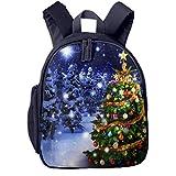Kinderrucksack Weihnachtsbaum Bänder Babyrucksack Süßer Schultasche für Kinder 2-5 Jahre