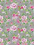 Papel Décopatch No. 716 - Paquete de 20 hojas (395 x 298 mm, ideal para papmachés) color gris y rosa...