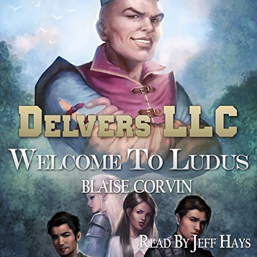Delvers LLC audiobook cover art