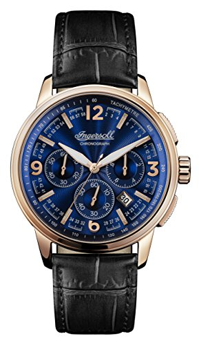Ingersoll Regent Mens Analog Quartz Watch with Leather Bracelet I00105