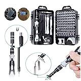JZAMY 115 en 1 Juego de Destornilladores de precisión, magnético Destornillador pequeño Kit de Accesorios Set, Destornilladores para el iPhone, Ordenador portátil, PC