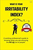 What Is Your Irritability Index?: A Working Professional's Guide to Knowing When You Are Annoying the #&%@ Out Of People! (English Edition)