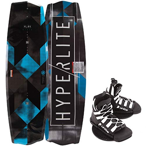 Hyperlite State 2.0 Kinder Wakeboard 130cm Junior Wakeboard-Set Bindung