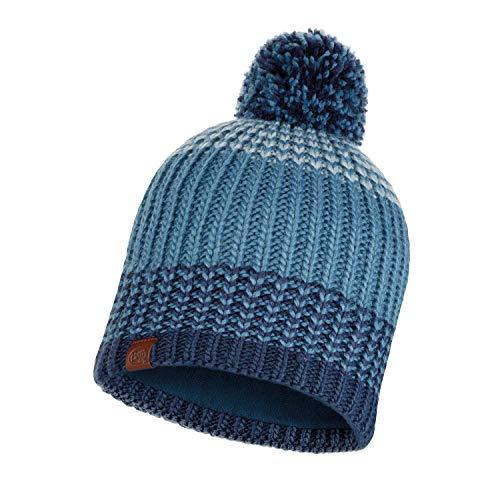 Buff Knitted und Polar Borae Mütze, Mazarine Blue, One Size