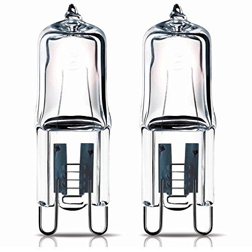 2 x 40W G9 halogeen-capsulelamp voor oven Samsung 240 V. Hittebestendig tot 300°