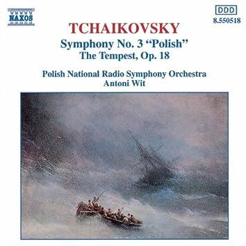 TCHAIKOVSKY: Symphony No. 3 / The Tempest