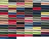 Fabrics-City 2M BLAU HOCHWERTIG Baumwoll DIRNDLSTOFF