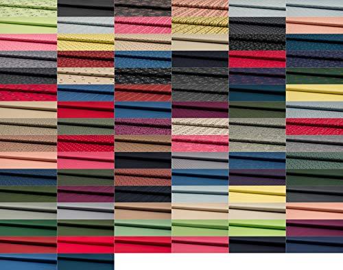Fabrics-City 2M BLAU HOCHWERTIG Baumwoll DIRNDLSTOFF TRACHTENSTOFF Baumwollstoff Oeko-TEX METERWARE, 4766(Blau)