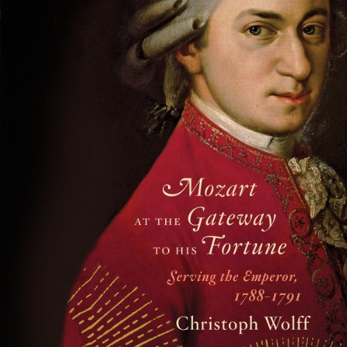 Mozart at the Gateway to His Fortune audiobook cover art
