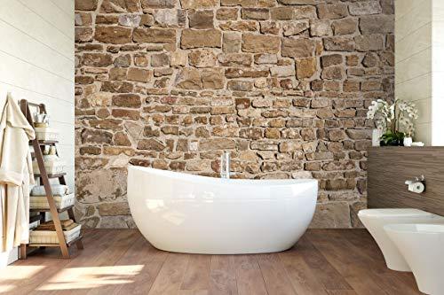 """3D Alte Steinmauer 106 Muster Fliese Marmor Tapeten Drucken Abziehbild Deko Innen Wandgemälde Selbstklebend Tapete MXY DE Maze (Vinyl (Kein Kleber & abnehmbar), 【123""""x87""""】312x219cm(BxH))"""