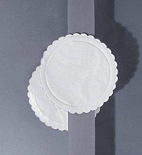 500pz Sottobicchieri Carta Assorbenti Bianco Diametro 9 Cartoncino Monouso Sotto Bicchiere
