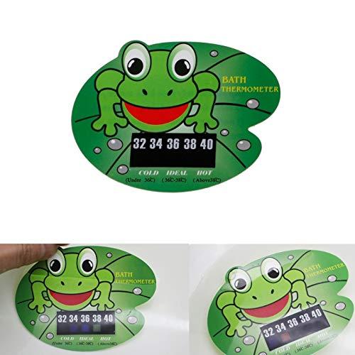 takestop® thermometer, kikker met kikker, voor badkamer, water, kinderen, temperatuur douche, badkuip, decoratie design
