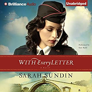 With Every Letter     Wings of the Nightingale, Book 1              Auteur(s):                                                                                                                                 Sarah Sundin                               Narrateur(s):                                                                                                                                 Kate Rudd                      Durée: 12 h et 19 min     Pas de évaluations     Au global 0,0