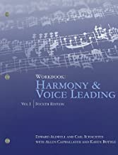 Workbook, Volume I for Aldwell/Cadwallader's Harmony and Voice Leading, 4th