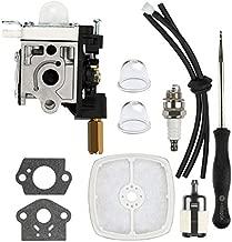Dalom RB-K70A Carburetor w Tune Up Kit Fuel Line for Echo SRM230 SRM231 GT230 GT231 PE230 PE231 PAS230 PAS231 PPT230 PPT231 Trimmer Weed Eater Parts