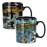 Paladone PP6585MCF Minecraft - Tazza per il cambio termico XL, 550 ml, in gres porcellanato