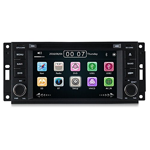 GPS DVD USB SD VCDM Bluetooth autoradio navigatore Jeep Compass/Jeep Commander/Jeep Grand Cherokee/Jeep Wrangler/Jeep Unlimited/Chrysler 300C / Chrysler Sebring/Dodge Ram