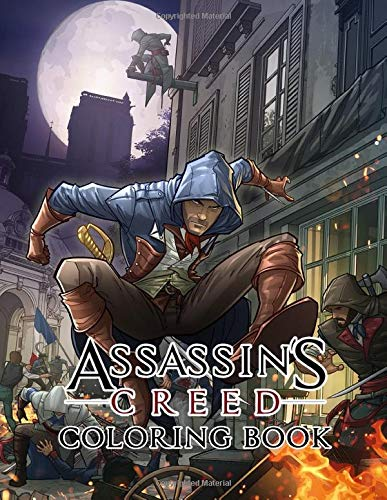 Assassin's Creed Coloring Book: 35+ exclusive illustrations of Assassin's Creed