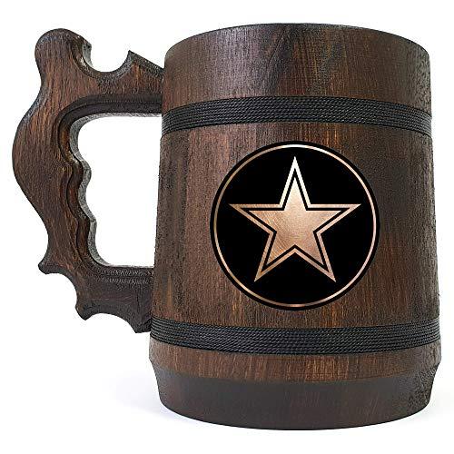 Dallas Cowboys Beer Mug, NFL Beer Gift, Sport Beer Stein, American Football Team, Beer Lover Gift, Beer Stein, Gift for Gamer, Gift for Him, Engraved Beer Mug