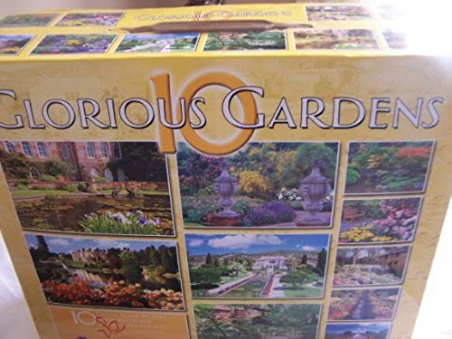 Glorious Gardens - 10 Puzzles - 6750 Pieces by Glorious Gardens 10 Puzzles