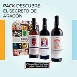 Pack Descubre el Secreto de Aragón. Excelente selección de 3 botellas compuesto por 1 botella Garnacha Nativa, 1 botella Garnacha Blanca Nativa y 1 botella de Cariñena Nativa