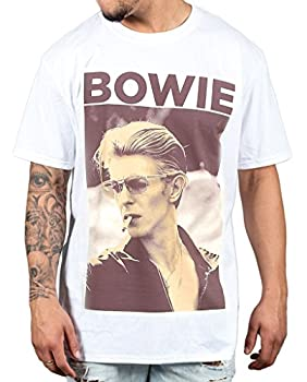 David Bowie Smoking T-shirt for Men, S to 3XL