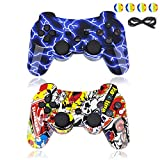 BRHE PS3 Controller Wireless Bluetooth Gamepad PS3 Games Remote Control Sixaxis Vibration Joystick Compatible...