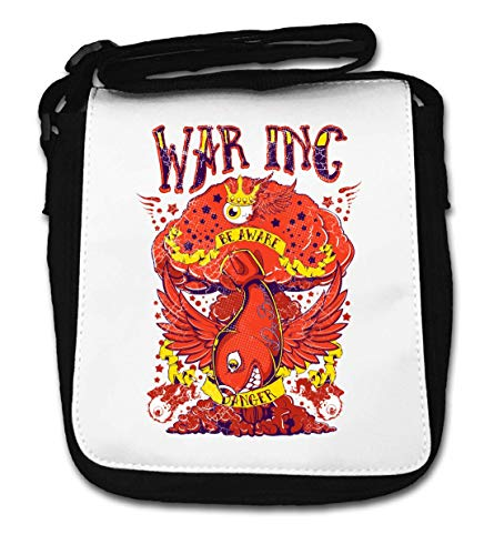 War Inc Be Aware of Atom Bomb Small Shoulder Bag