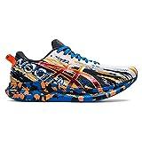ASICS Noosa Tri 13, Zapatillas de Running Hombre, White Shocking Orange, 44 EU