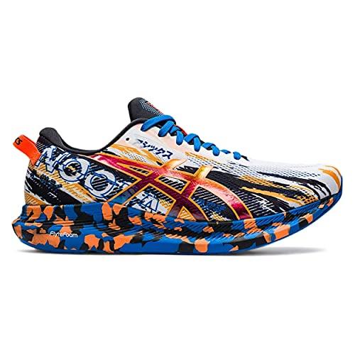 ASICS Noosa Tri 13, Zapatillas de Running Hombre, White Shocking Orange, 44.5 EU