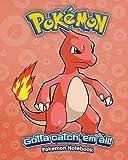 Pokemon Notebook: Pokemon Gen 1 No. 005 Charmeleon Journal