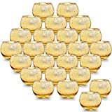 LETINE 36pcs Gold Votive Candle Holders for Table - Round Tealight Candle Holder Bulk -Ide...