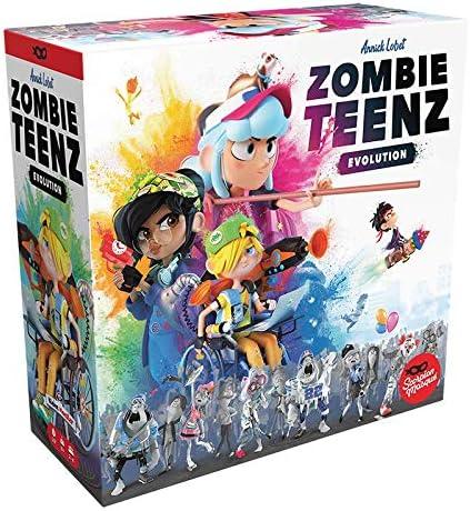 Asmodee Zombie Teenz Evolution 1 year warranty Strategy Children's Max 57% OFF Game