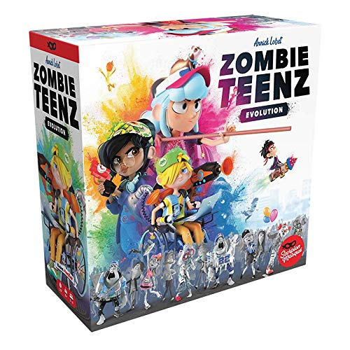 Asmodee Zombie Teenz Evolution, Kinderspiel, Strategiespiel, Deutsch