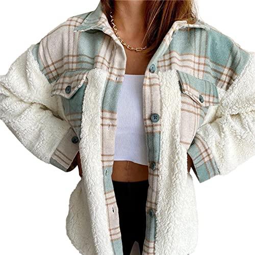 Damskie bluzy z kapturem Sherpa Swetry z długim rękawem puszyste miękkie polarowe kurtki swetry bluzy Leopard przeszycia znosić