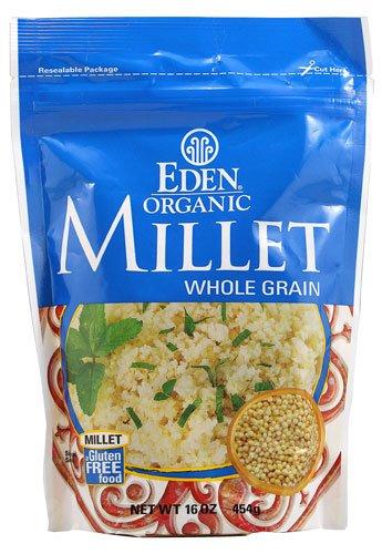 Eden Foods Organic Millet Whole Grain depot Gluten p oz Free 16 Award -- 2 -